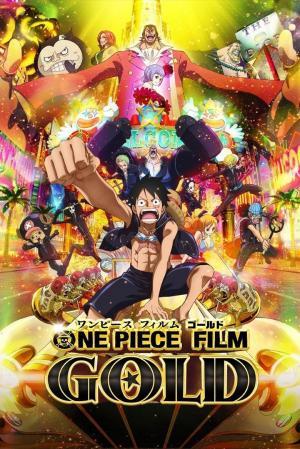 affiche One Piece Gold