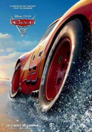 affiche Cars 3