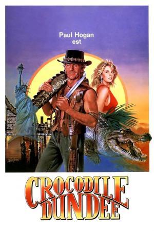 affiche Crocodile Dundee