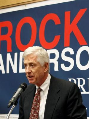 affiche Third Party President: Citizen Rocky