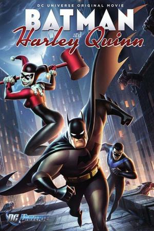 affiche Batman and Harley Quinn