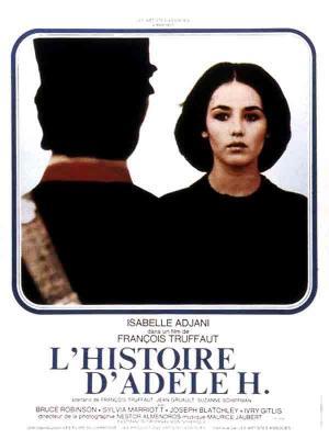 affiche L'histoire d'Adèle H.