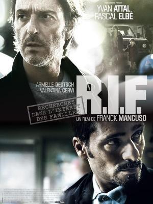 affiche R.I.F. (Recherches dans l'Intérêt des Familles)