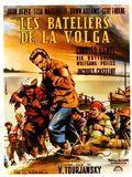 affiche Les Bateliers de la Volga