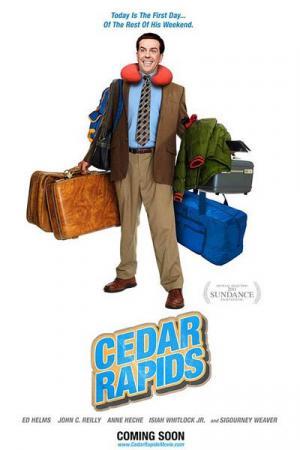 affiche Bienvenue à Cedar Rapids