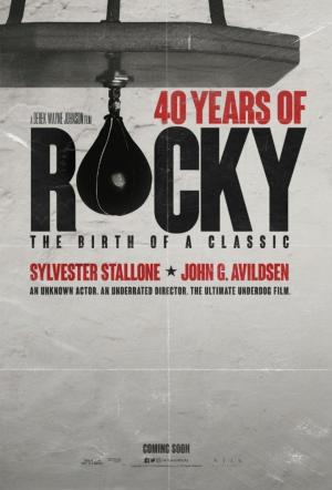 affiche 40 Years of Rocky: The Birth of a Classic