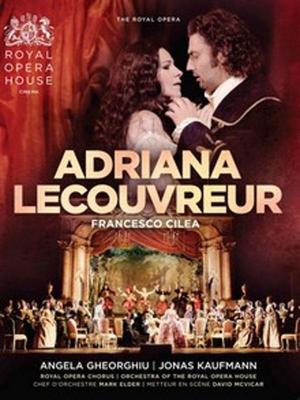 affiche Adriana Lecouvreur (Côté Diffusion)