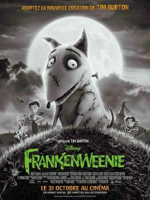 affiche Frankenweenie