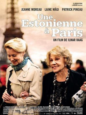 affiche Une Estonienne à Paris