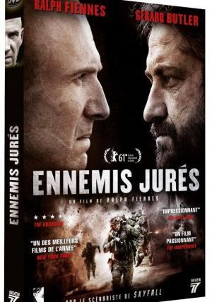 affiche Ennemis Jurés DVD