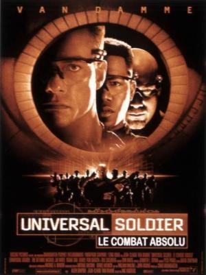 affiche Universal Soldier : le combat absolu