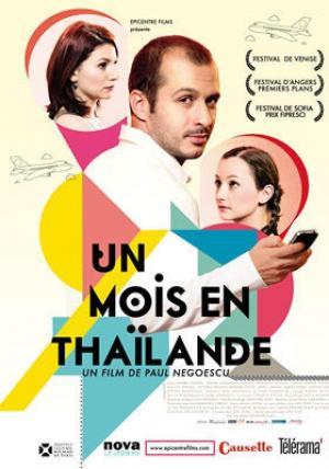 affiche Un mois en Thaïlande