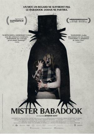 affiche Mister Babadook