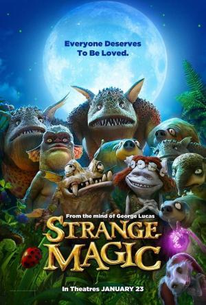 affiche Strange Magic