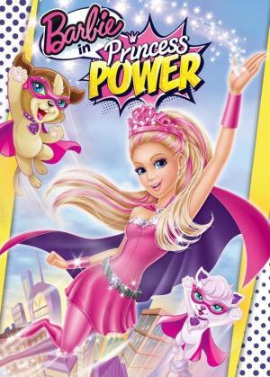 affiche Barbie en super princesse