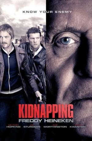 affiche Kidnapping Mr. Heineken
