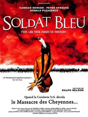 affiche Le Soldat bleu