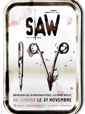 affiche Saw 4