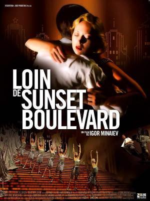 affiche Loin de Sunset Boulevard
