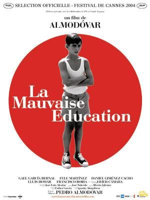 affiche La Mauvaise éducation
