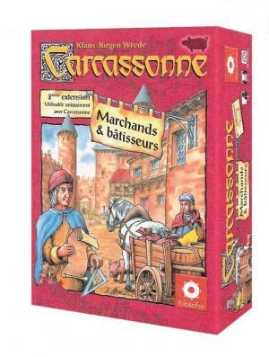 affiche Carcassonne : Marchands et Bâtisseurs