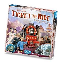 affiche Les aventuriers du rail: Asia