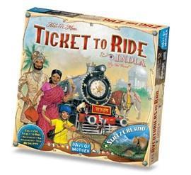 affiche Les aventuriers du rail: India