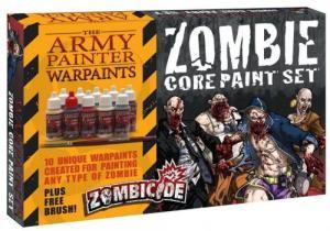 affiche Zombicide: Core Paint Set
