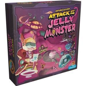 affiche Attack of the Jelly Monster