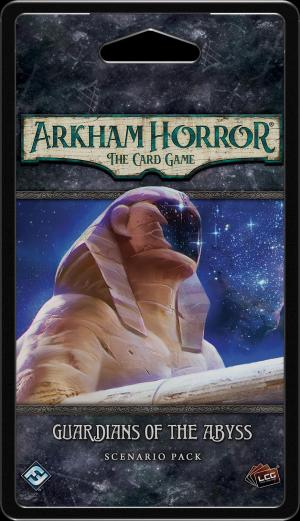 affiche Horreur à Arkham : Le Jeu de Cartes - Gardiens de l'Abîme