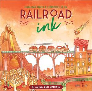 affiche Railroad ink : édition rouge ardent