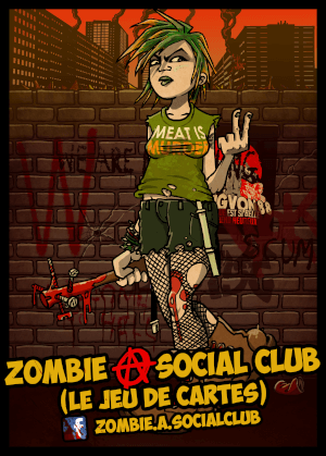 affiche Zombie A Social Club