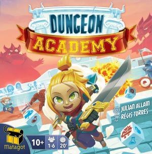 affiche Dungeon Academy