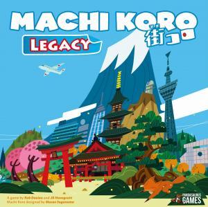 affiche Machi Koro Legacy