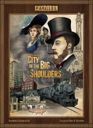 affiche Chicago 1875: City of the Big Shoulders