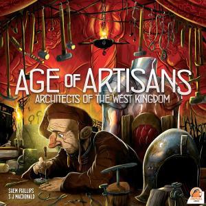 affiche Architectes du Royaume de l'Ouest : L'Age des Artisans