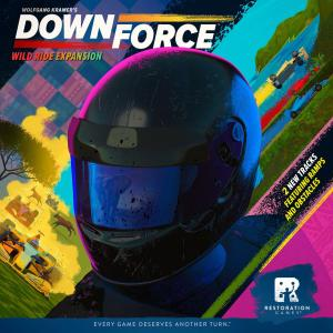 affiche Downforce :  Courses Sauvages