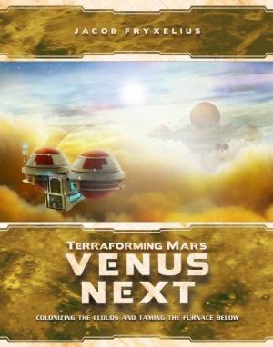 affiche Terraforming Mars - Venus Next