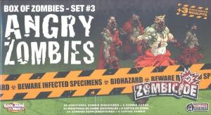 affiche Zombicide : Angry Zombies