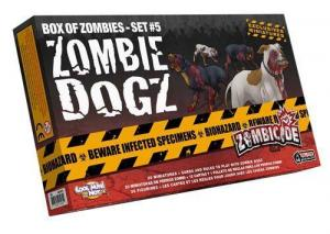 affiche Zombicide : Zombies Dogz