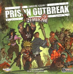 affiche Zombicide: Prison Outbreak