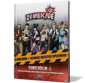 affiche Zombicide: Compendium 1