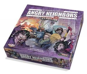 affiche Zombicide : Angry Neighbors