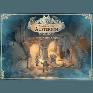 affiche Adventures in Austerion  - Les Tunnels du Royaume