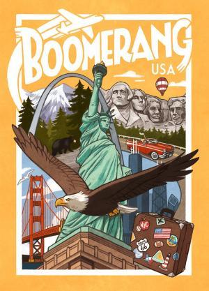 affiche Boomerang: USA