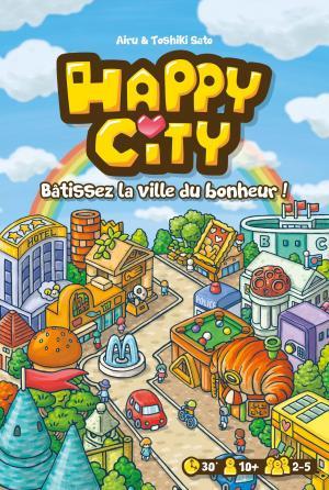 affiche Happy City