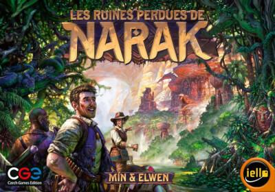 affiche Les Ruines Perdues De Narak