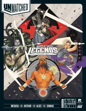 affiche Unmatched: Battle of Legends, Volume One
