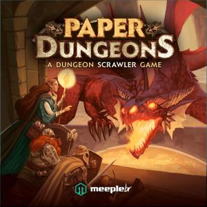 affiche Paper Dungeons