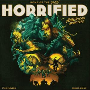 affiche Horrified: American Monsters